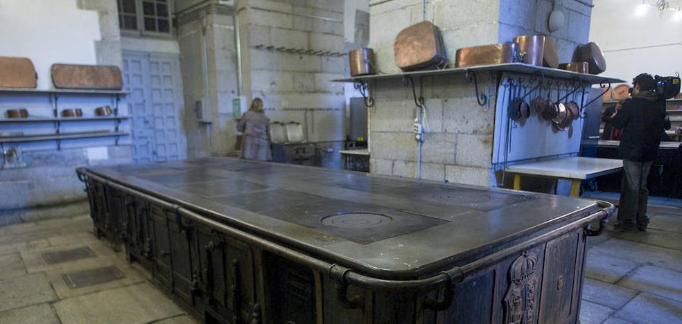 Hasta la cocina en el Palacio Real