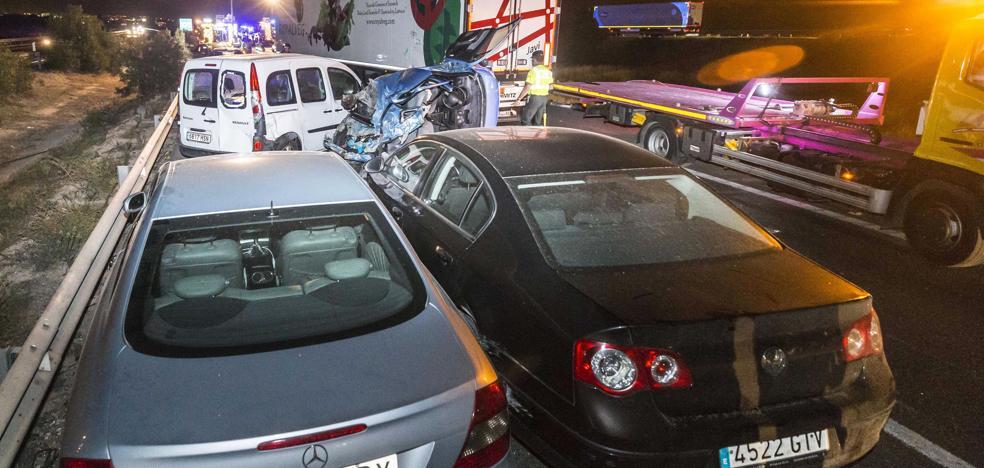 Los heridos en accidente de tráfico aumentan un 16% en cinco años