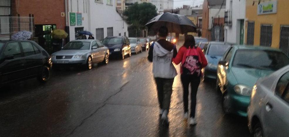 Fuente de Cantos, la localidad más lluviosa de España con 26,8 litros por metro cuadrado