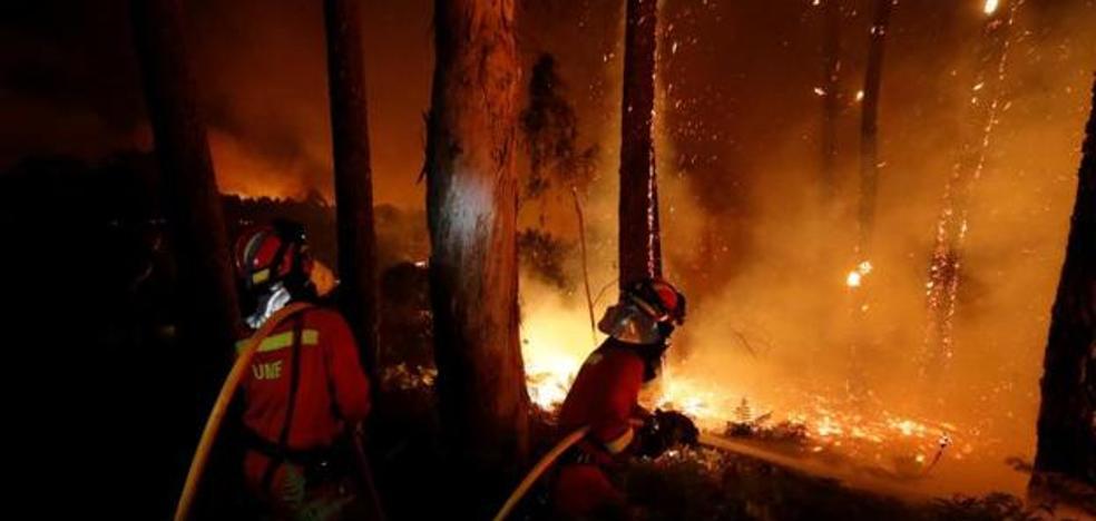 Portugal eleva a 38 los fallecidos por los incendios