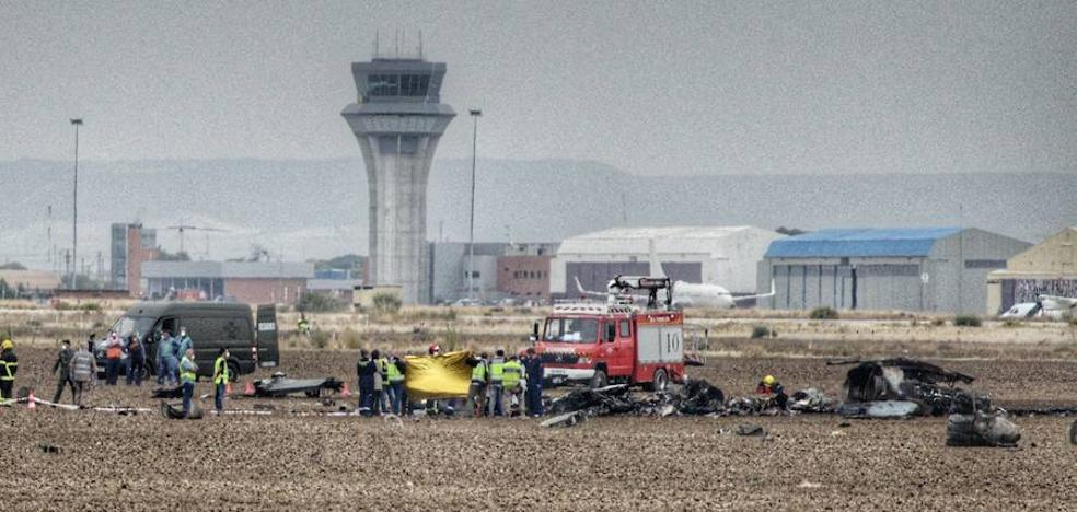 Muere un teniente al estrellarse el F-18 que pilotaba en Torrejón