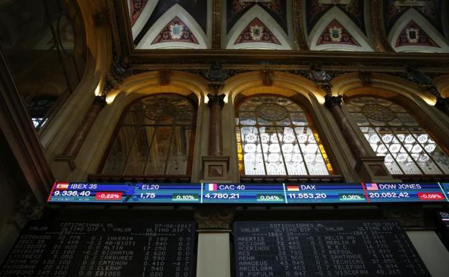 El Ibex-35 encabeza las ganancias por Abertis y ACS a la espera de Puigdemont