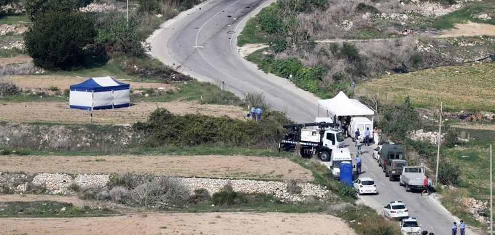 El hijo de la periodista asesinada en Malta culpa al Gobierno de ser «cómplice»