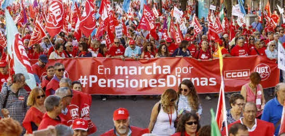 La OCDE alerta de la «dificultad para garantizar una pensión decente» en España
