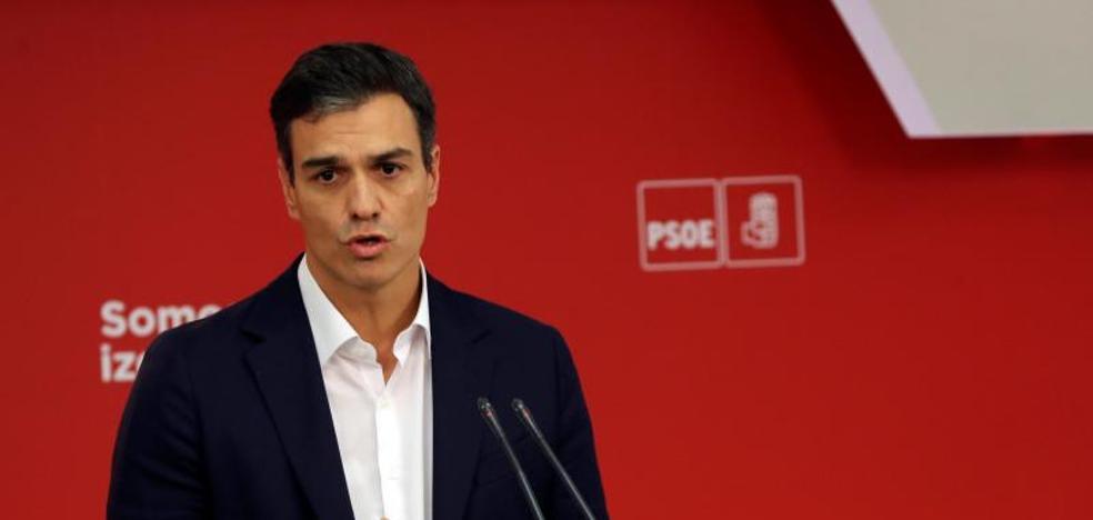 Sánchez urge a Puigdemont a convocar elecciones para evitar el 155