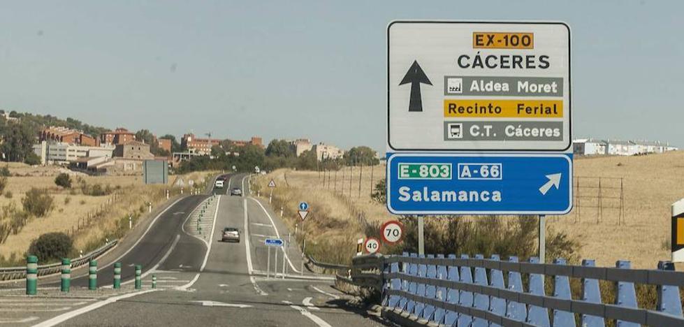 La Unión de Transportistas de Extremadura reclama la conversión de la Ex-100 en autovía