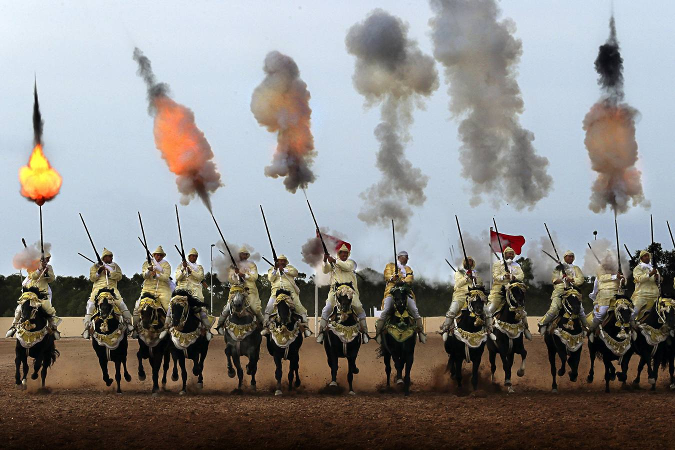 10º Festival de caballos de Al-Jadidah en Marruecos