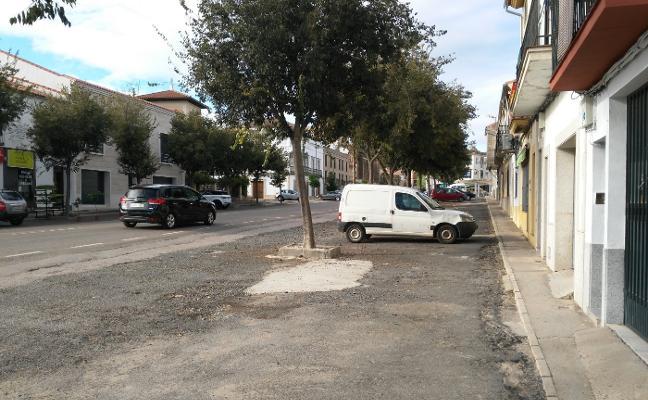 Trujillo formaliza la petición de cesión de la avenida de Miajadas