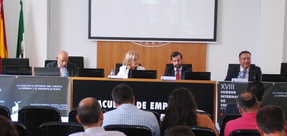 Éxito del curso de la UEx sobre el sector cinegético extremeño