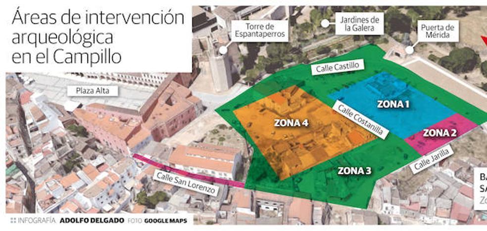 Más de una hectárea del Campillo se convertirá en un yacimiento arqueológico