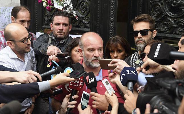 El hermano de Maldonado asegura que el cuerpo hallado en un río es el del activista argentino
