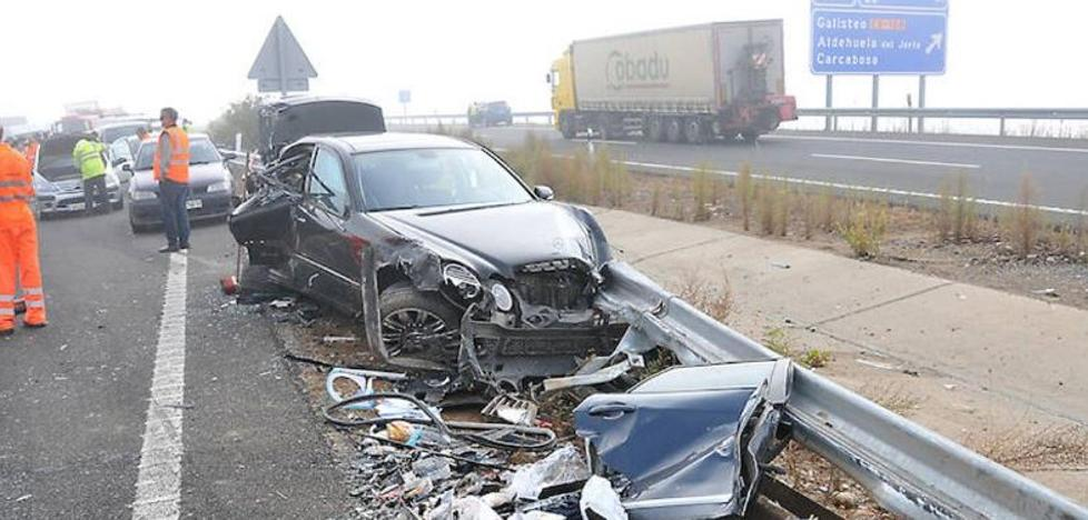 Tres heridos del accidente de Galisteo reciben el alta y tres siguen ingresados