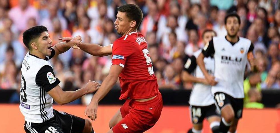 El Valencia sigue de dulce y agrava la mala semana del Sevilla