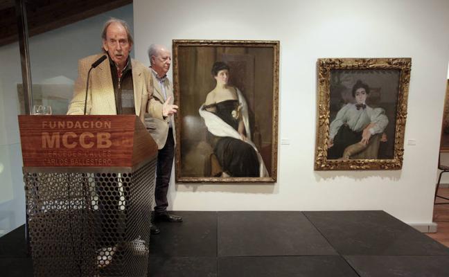Pintura española de los siglos XIX y XX en la Mercedes Calles