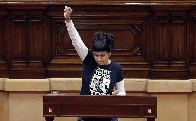 La CUP prepara acciones de «lucha no violenta» para rechazar el 155