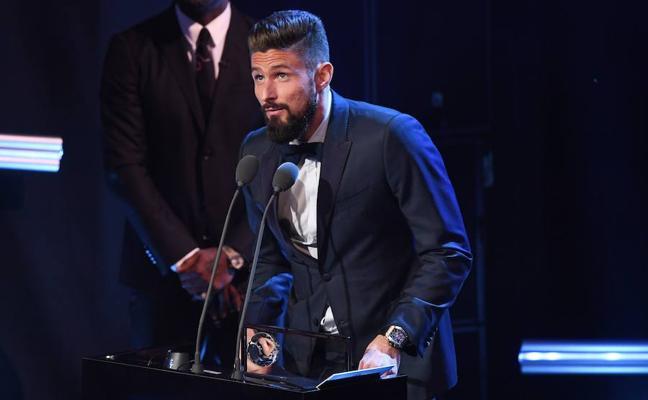 Giroud gana el premio Puskas y el Celtic, el de mejor afición