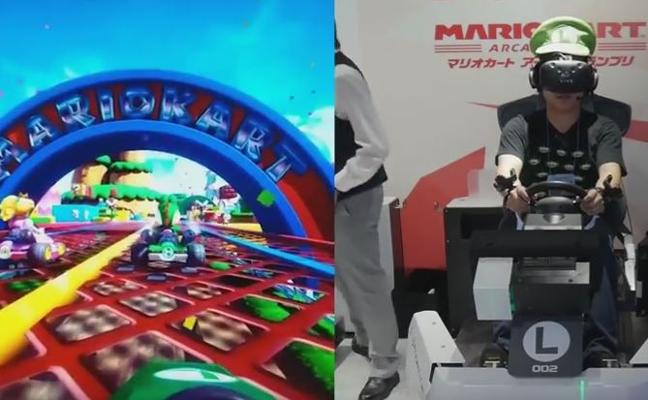 Mario Kart a otro nivel