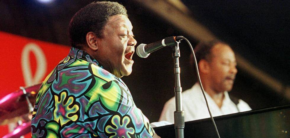 Muere a los 89 años Fats Domino, padre del rock and roll