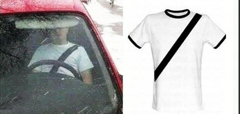 La Guardia Civil alerta sobre el peligro de las 'camisetas antimultas'