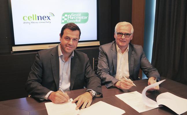 Cellnex convertirá el Parcmotor de Castellolí en un circuito conectado