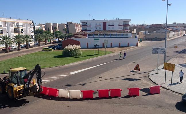 La calle Eduardo Dato de Don Benito, cortada hasta diciembre