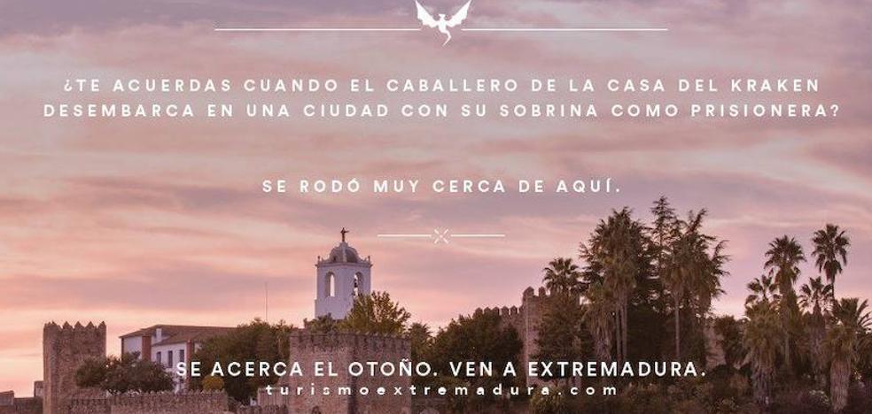 El Ayuntamiento tacha de «chapuza» que se promocione Cáceres con una imagen de Jerez de los Caballeros
