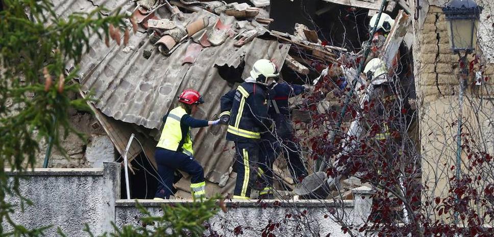 Muere al derrumbarse su casa tras una explosión