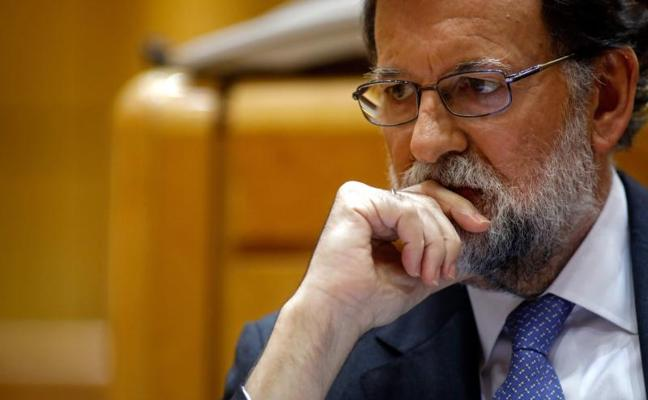 Rajoy pide «tranquilidad» y dice que se restaurará la legalidad en Cataluña