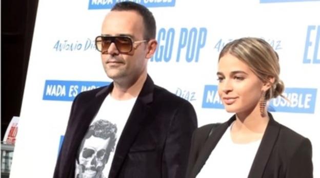 Laura Escanes y Risto Mejide disfrutan del Mago Pop