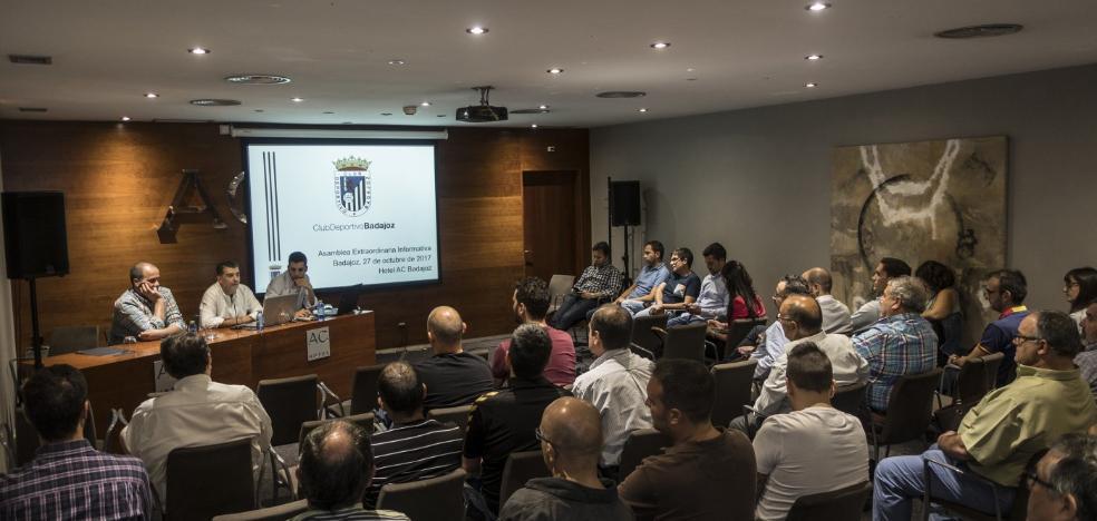 Un fondo de inversión «serio», interesado en elevar al Badajoz