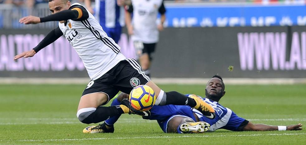 Zaza y Rodrigo confirman las aspiraciones del Valencia