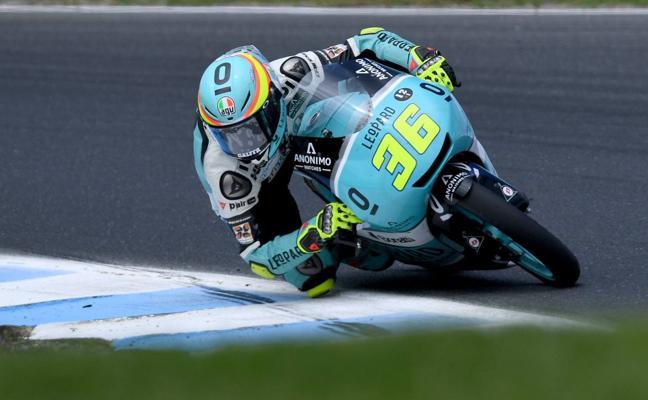 El español Mir firma su primera mejor clasificación del año