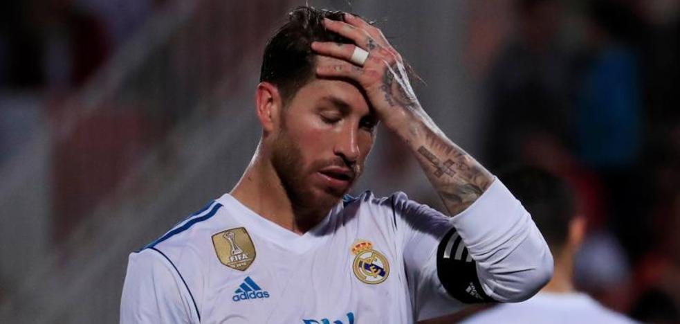 Debacle del Real Madrid en Montilivi