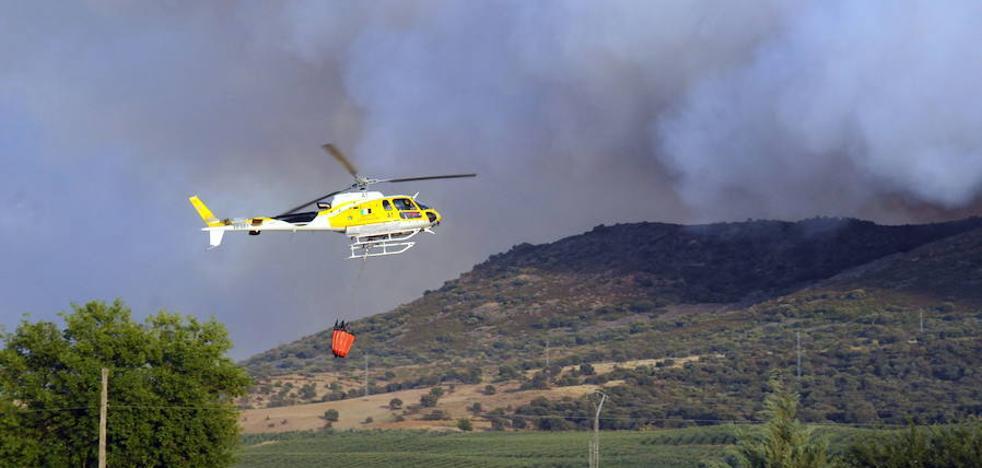 Este año han ardido un total de 5.410 hectáreas en la región, 631 menos que en 2016
