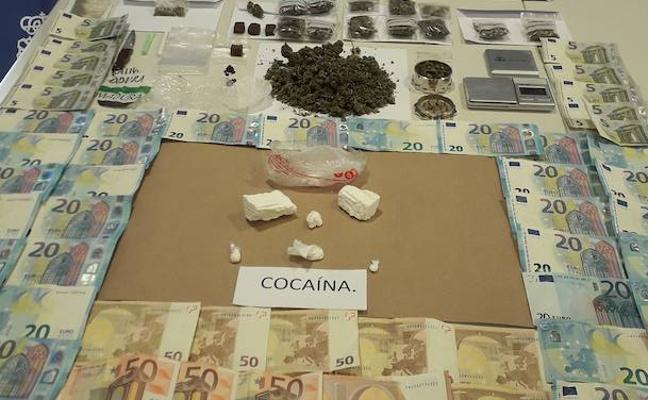 Siete detenidos por tráfico de cocaína en La Vera