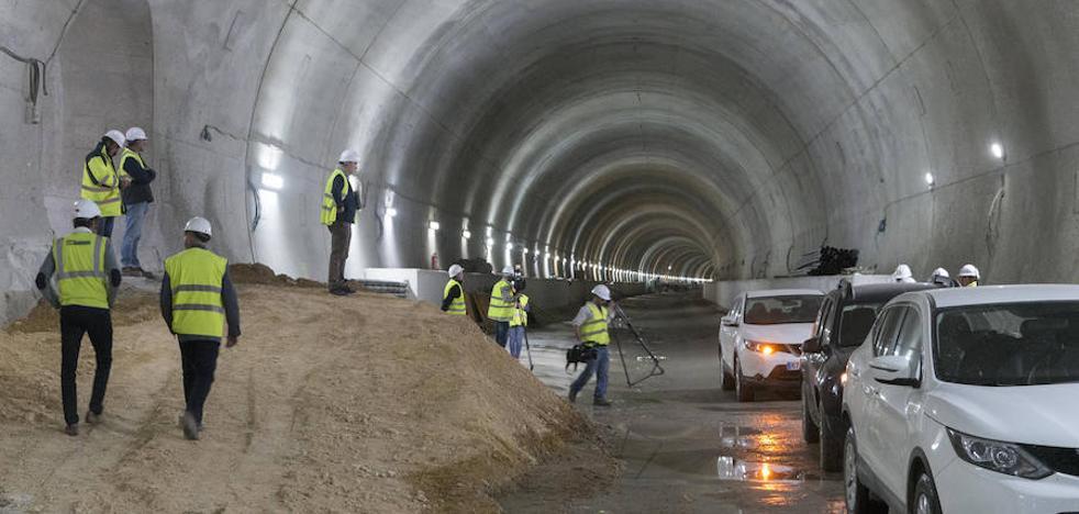 La obra del mayor túnel del AVE extremeño estará acabada en un mes