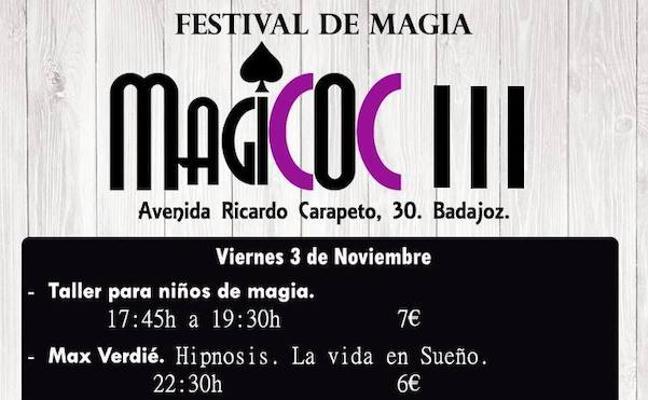 Tercera edición del Festival de Magia MagiCOC