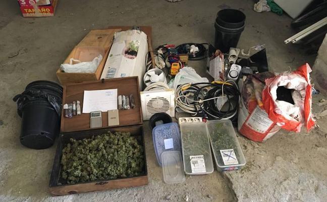 Detienen a dos jóvenes con material para montar un laboratorio de drogas