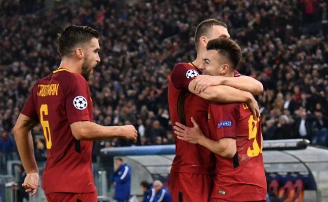 La Roma se dispara tras golear al Chelsea (3-0)