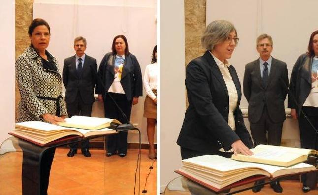 Blanco-Morales e Iglesias toman posesión como vicepresidenta y consejera