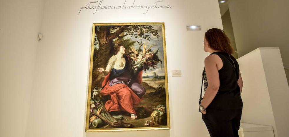 Pintura flamenca de la colección Gerstenmaier, en el MUBA