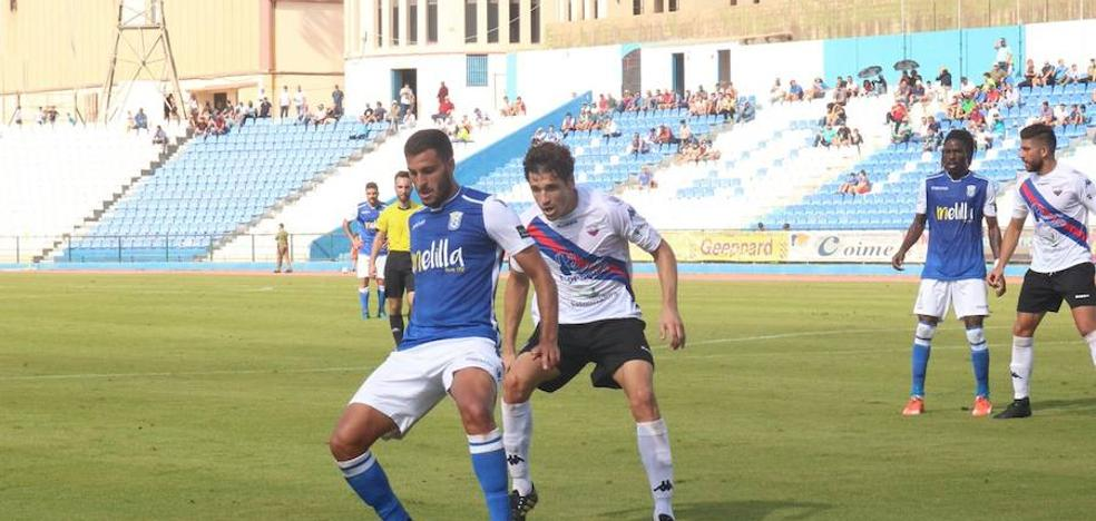 Justo reparto de puntos entre el Extremadura y el Melilla