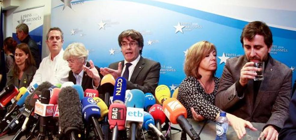 La juez Lamela impondrá mañana medidas cautelares contra Puigdemont y sus consejeros