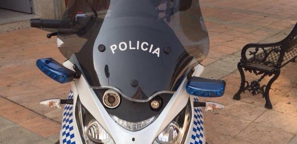 La Policía Local de Badajoz prueba una moto con radar pero descarta comprarla