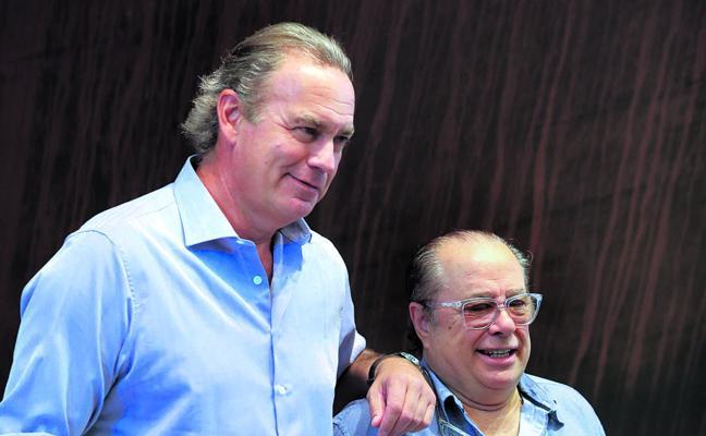 Bertín y Arévalo vuelven a ser amigos
