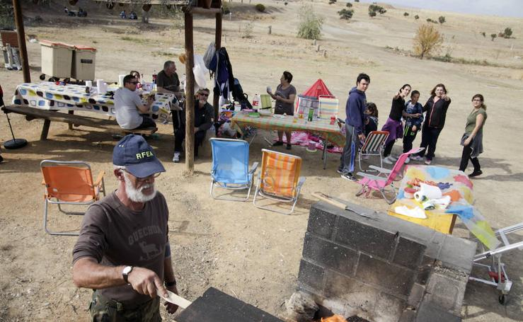 Las familias viven el Día de las Castañas en el Cuartillo