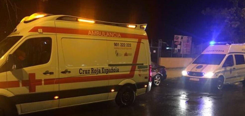 Una mujer sufre heridas leves en un atropello en Badajoz