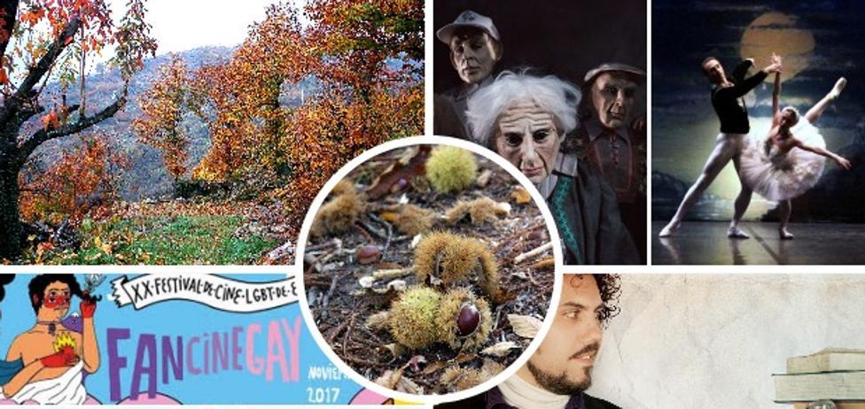 Senderismo, castañas, fotos y magia para comenzar noviembre