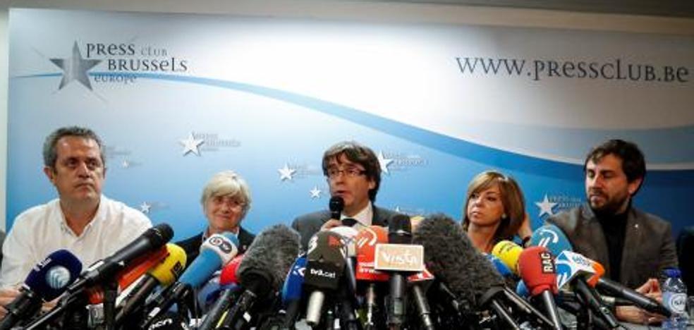 La Fiscalía pide a la juez Lamela una orden de detención internacional para Puigdemont
