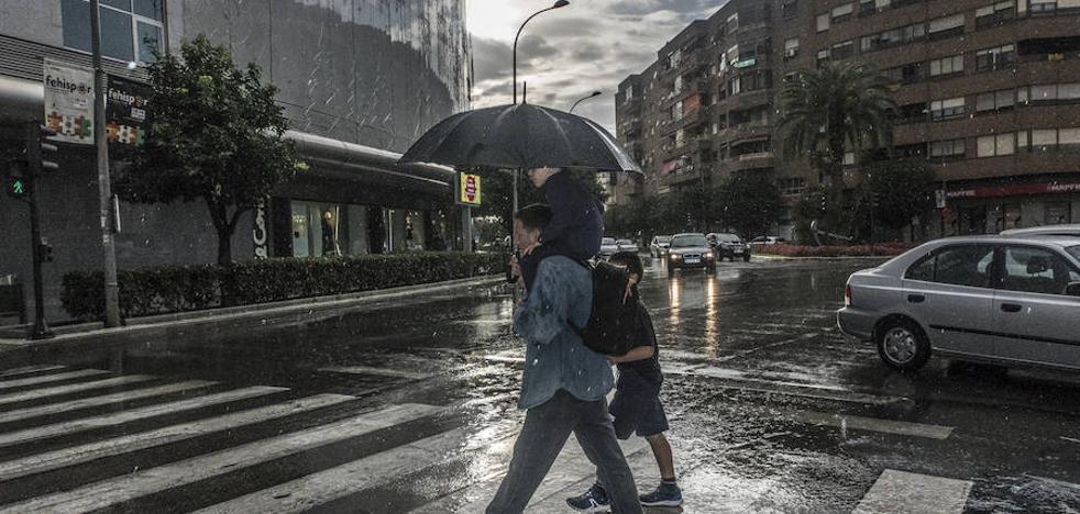 La borrasca deja más de 40 litros en dos días pero con un reparto irregular de la lluvia
